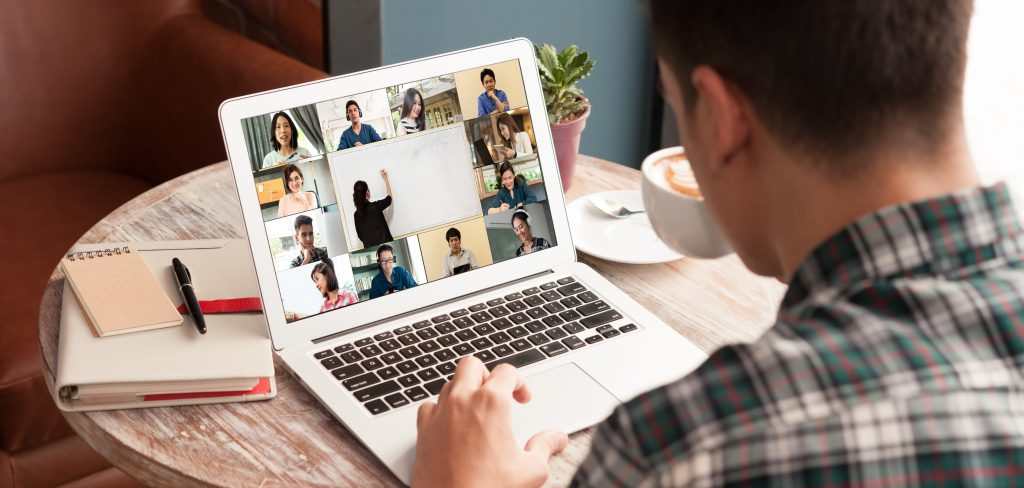 college course online group video chat